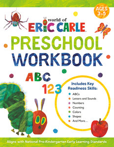 Eric Carle Preschool Workbook