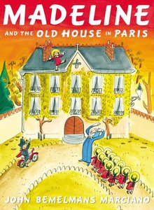 Madeline & Old House in Paris