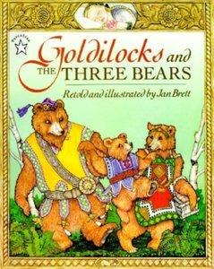 Goldilocks & the 3 Bears (Paperback)