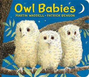 Owl Babies (Board Book)