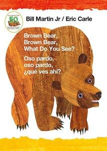 Brown Bear Board Book - Spanish/English Edition