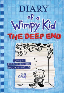 Diary Wimpy Kid #15 Deep End-Autographed