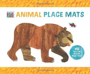 Eric Carle Animal Place Mats