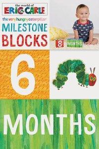 Very Hungry Caterpillar Milestone Blocks