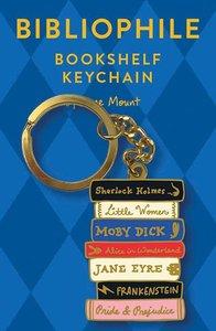 Bibliophile Keychain