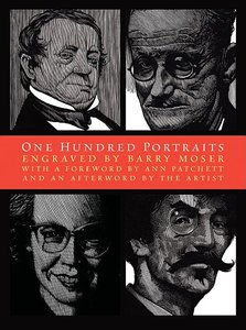 Moser Book Plate & One Hundred Portraits - Hardcover