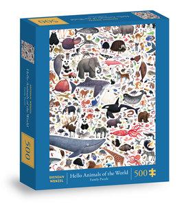Hello Animals of the World 500 pc Puzzle