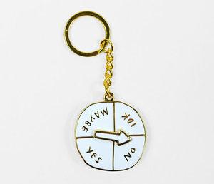 Indecisive Spinner Keychain