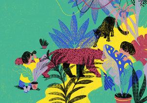 Cynthia Alonso Print - Jungle