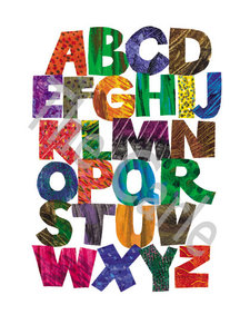 Alphabet Limited Edition Print