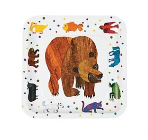 Brown Bear Dinner Plates