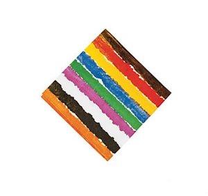 Brown Bear Small Napkins (Stripes)