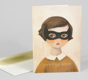 Emily Martin Card - Bandit Kitty