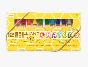 Brilliant Beeswax 12 Crayons