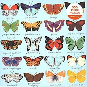 Butterflies of North America Puzzle