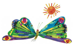 Eric Carle Postcard - Butterfly