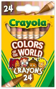 Crayons-Crayola Colors of the World Skin Tone