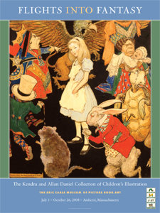 Flights Into Fantasy Exhibition Poster
