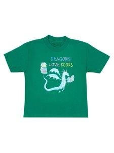 Dragons Love Books Youth T-Shirt