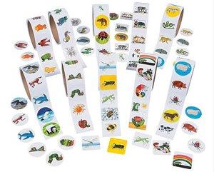 Eric Carle Sticker Assortment (Set of 50 Stickers)