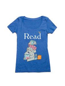 ELEPHANT & PIGGIE Read Ladies T-Shirt