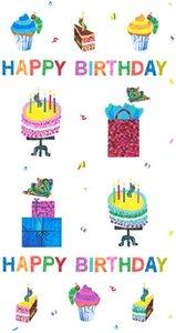 Happy Birthday Panel Fabric