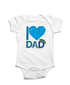 I Heart Dad Bodysuit