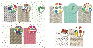 Eric Carle Wrapping Paper Roll (Single Sheet)
