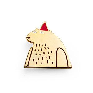 Jon Klassen I Want My Hat Back Pin (Limited Edition)