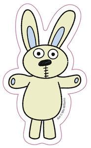 Knuffle Bunny Sticker