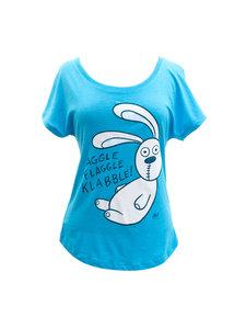 Knuffle Bunny Ladies Dolman Sleeve T-Shirt