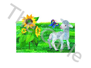 Lamb & Butterfly Limited Edition Print