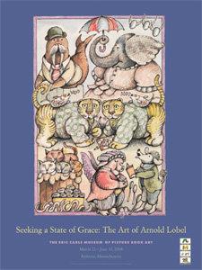 Arnold Lobel Exhibition Poster