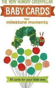 Very Hungry Caterpillar Baby Milestone Cards