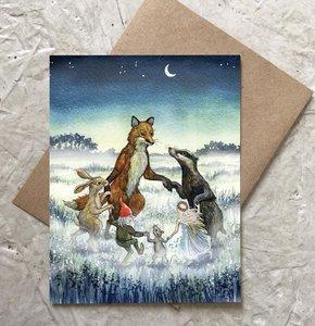 Card-Moonlight Dance