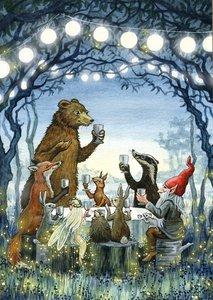 Astrid Sheckels Limited Edition Print - Moonlight Feast
