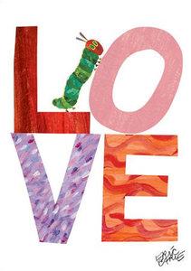 Caterpillar Love Canvas Wall Art