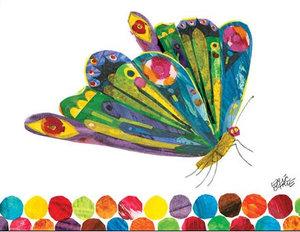 Butterfly in Flight Canvas Wall Art