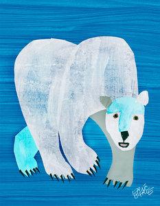 Polar Bear Canvas Wall Art