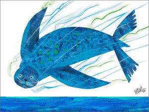 Sea Lion Canvas Wall Art