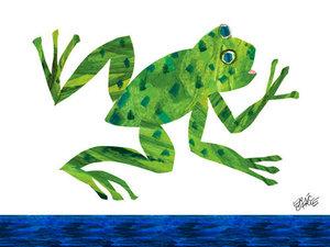 Frog Canvas Wall Art