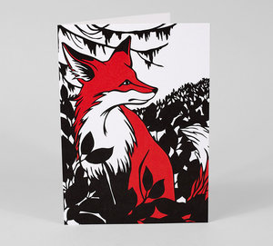 Nikki McClure Card - Fox