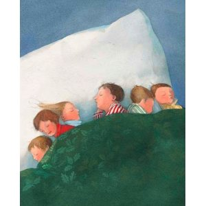 Lisbeth Zwerger Postcard - The Night Before Christmas