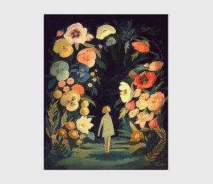Emily Winfield Martin Print - Night Garden