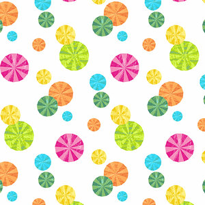 Fabric-Peppermint Parasol White