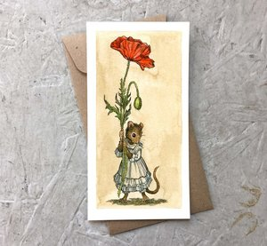 Card-Poppy Mouse