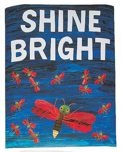 """Eric Carle Firefly Poster """"Shine Bright"""""""