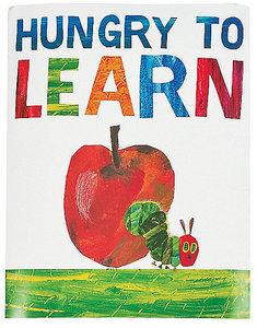 Eric Carle Caterpillar & Apple Poster