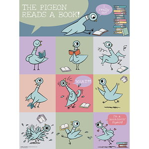 The Pigeon Reads a Book Poster