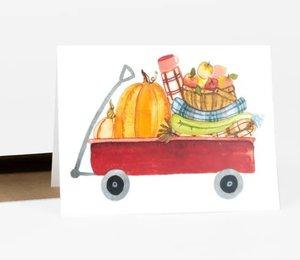 Card-Pumpkin Wagon